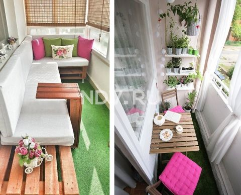 5 стилей для балкона