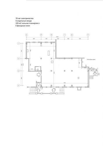 ПСН в встроенном помещении, 200 м2 за 280 000 руб.