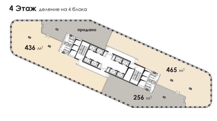 Офис в бизнес-центре «БЦ Stone Белорусская», 436,38 м2 за 99 931 020 руб.