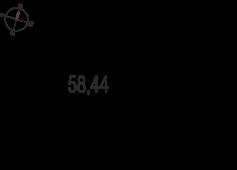 2-комнатная квартира 58.44 м²